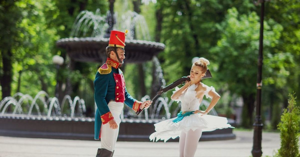 Тоня Матвиенко и Арсен Мирзоян @ vk.com/kazkovuy_kyiv