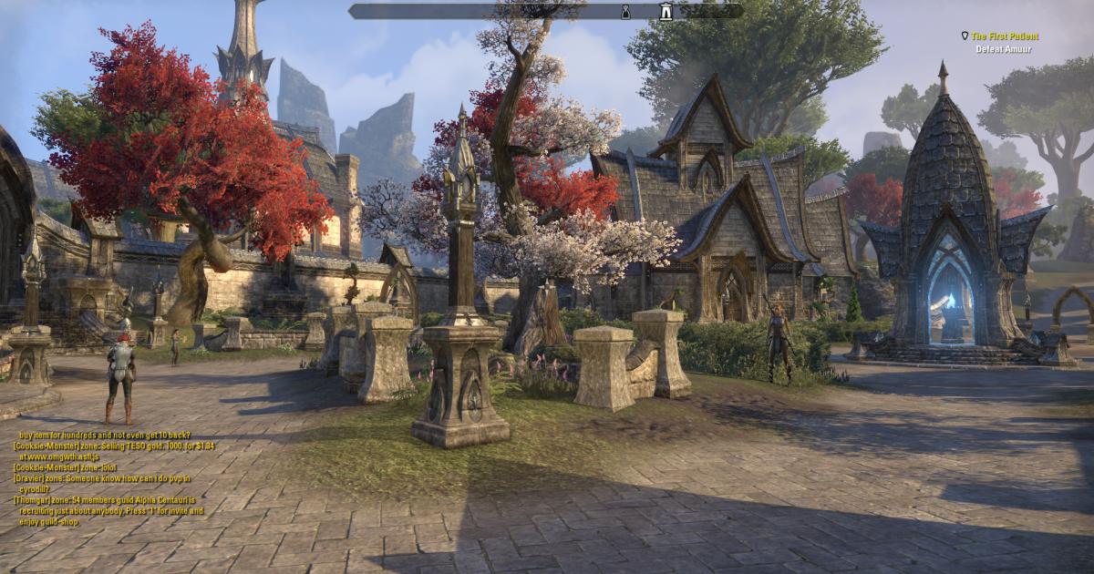 Графика The Elder Scrolls Online находится на приличном уровне @ elderscrollsonline