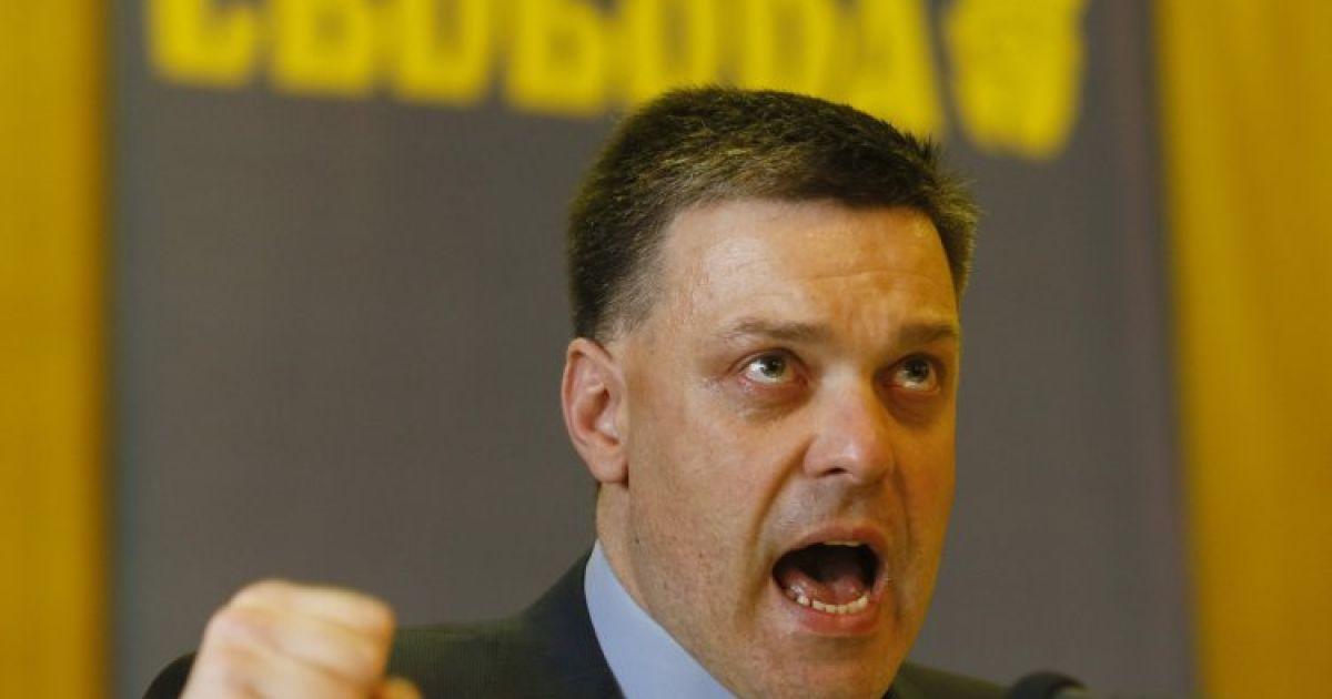 Аваков обвинил Тягнибока и его соратников в столкновениях под Радой