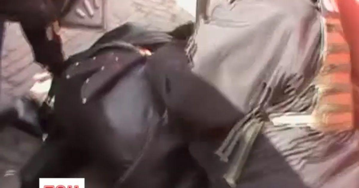 Задержанный российский шпион был вооружен двумя кинжалами @ euronews.com