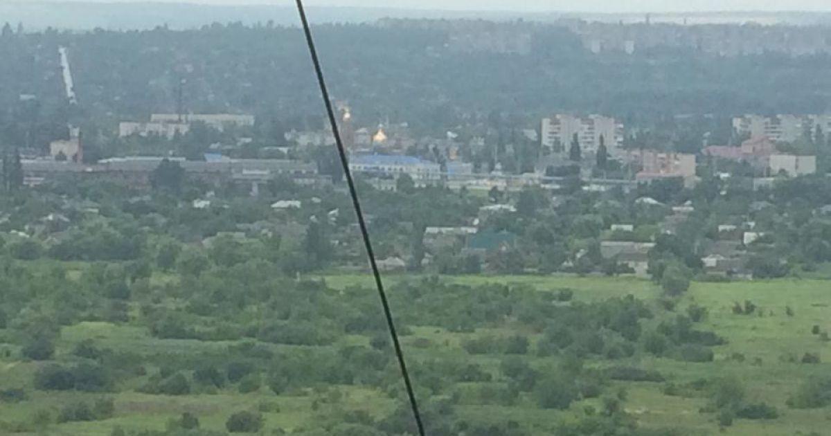На горе Карачун возле Славянска военные подавили артобстрел со стороны террористов @ wikipedia.org