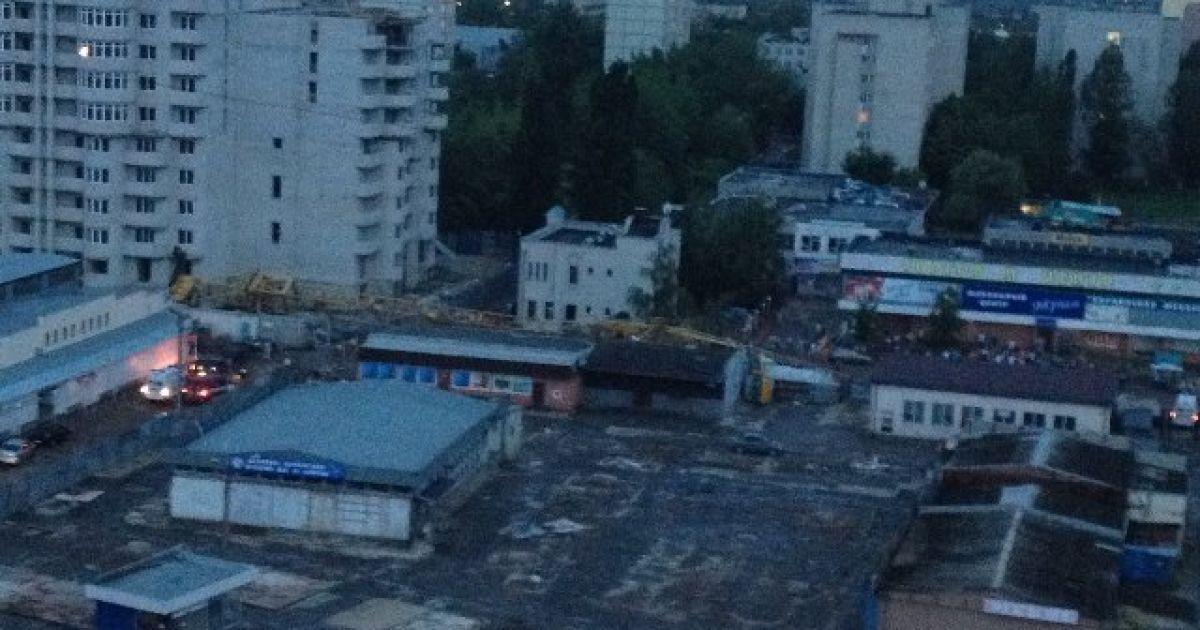 У Харкові кран упав на людей @ kharkovforum.com