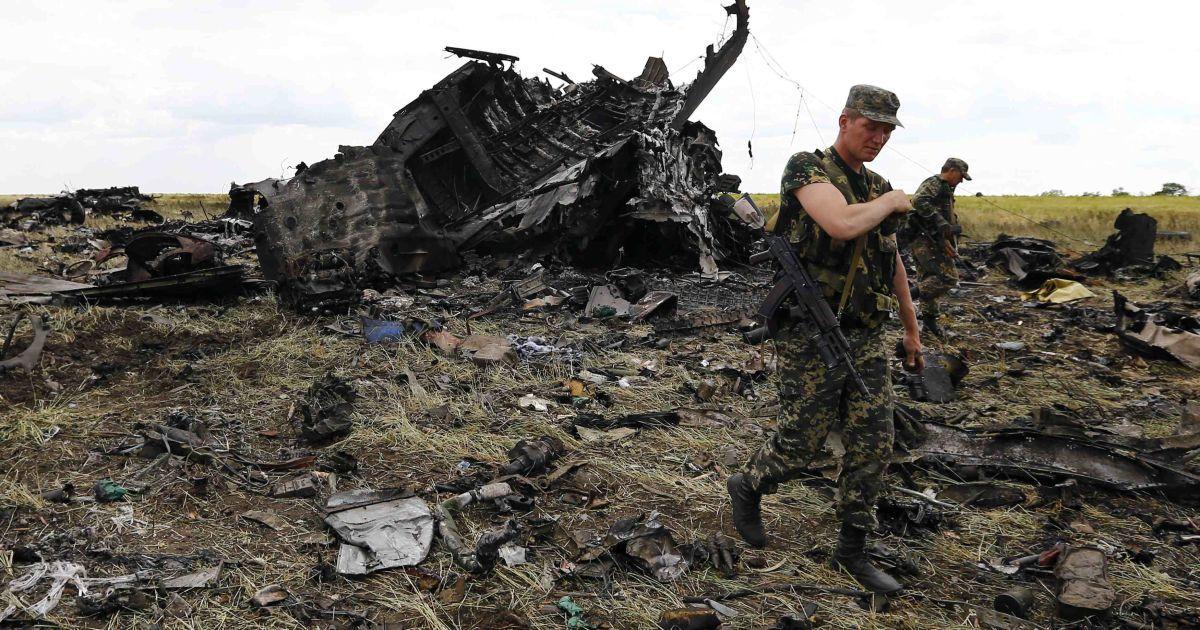 Літак був уражений вистрілами із зенітної установки @ Reuters