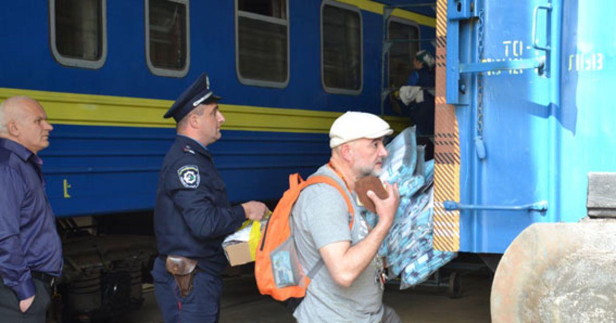 """Клетчатый уютный """"вагон дружбы"""" будет объединять Львов и Одессу @ mvs.gov.ua"""