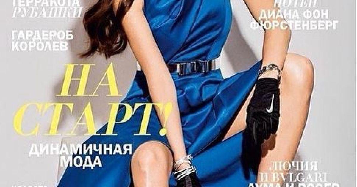 Ганна часто знімається для обкладинок глянцевих видань @ ТСН.ua