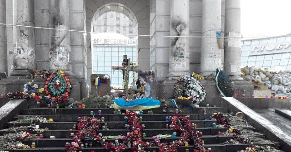 Шпигунка викладає в інтернет фото з Майдану в Києві @ ВКонтакте/Мария Коледа