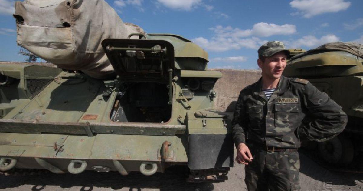Военную технику вывезут из Крыма @ УНИАН