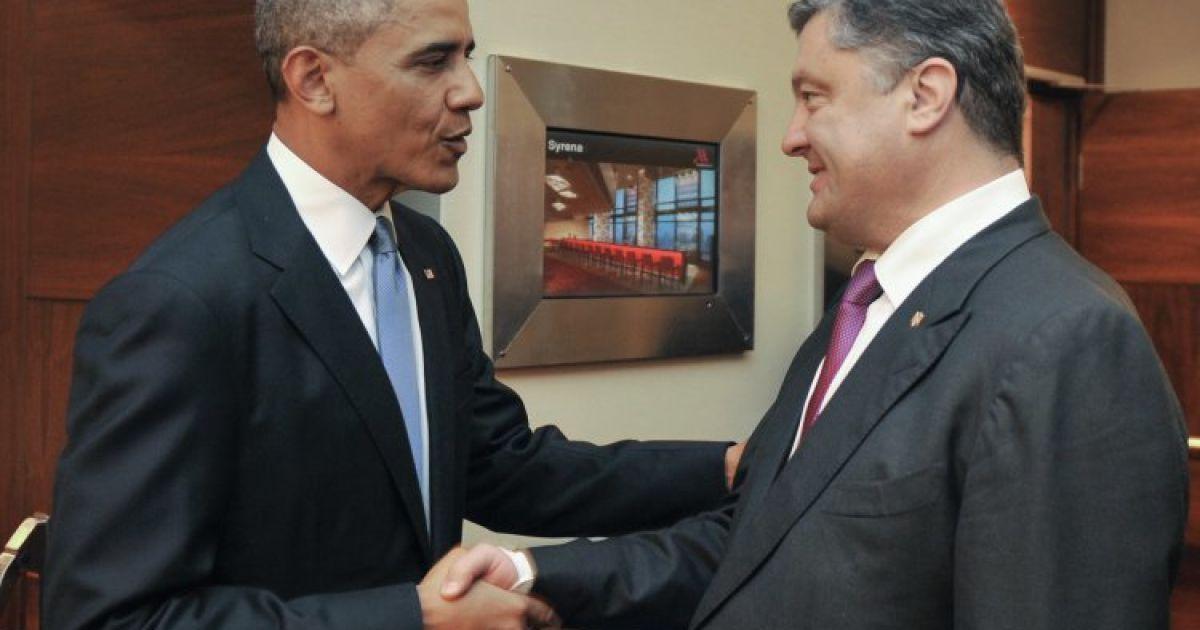 В ближайшие часы Порошенко встретится с Обамой