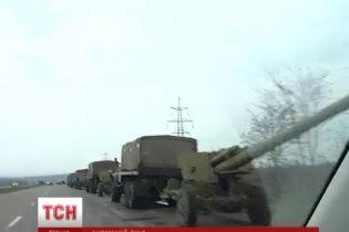 Сепаратисти заблокували колону військових під Донецьком