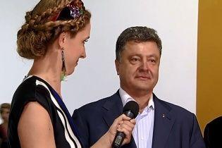 """""""Собачьи бои"""" неуместны во время войны - Порошенко о дебатах с Тимошенко"""