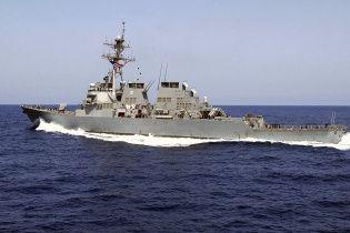 Американский эсминец вошел в Черное море для поддержки Украины