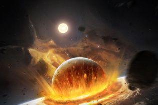 """Місяць з'явився в результаті удару """"планети-приблуди"""" об Землю - вчені"""