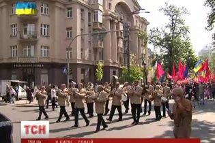 Первомай в Киеве прошел без провокаций и под знаком единства Украины