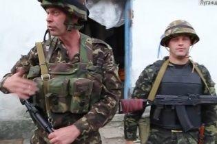 """Бійці """"Айдара"""" затримали 18 бойовиків, які ховалися в бункері"""