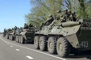 Вночі Росія стягувала до Луганська нову техніку