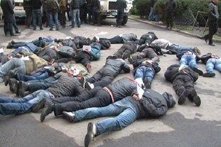 В Харькове задержали более десятка экстремистов с палками и взрывпакетами