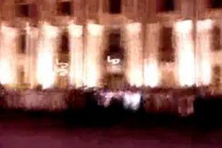 Відео штурму Харківської ОДА з'явилося в інтернеті