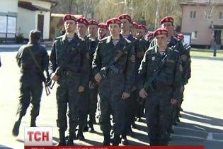 Первый батальон Нацгвардии принес присягу на верность Украине