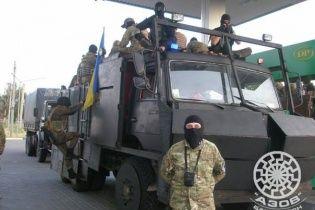 """Заместитель командира """"Азова"""" рассказал о финансировании батальона и поблагодарил ультрас """"Динамо"""""""