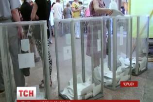В Черкасах безладдя: місцева виборча комісія бойкотує підрахунок голосів