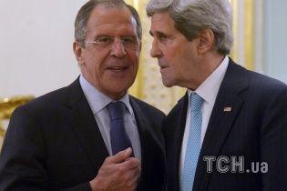 Керрі і Лавров зустрінуться, щоб обговорити ситуацію в Україні та на Близькому Сході