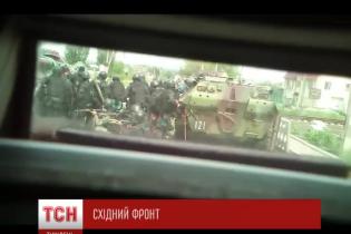 Эксклюзив ТСН: украинские силовики показали видео кровавых боев с террористами