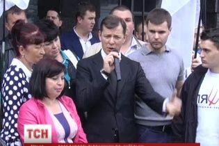 В столичном избиркоме возмущенный Ляшко устроил скандал и обыск, требуя пересчета голосов