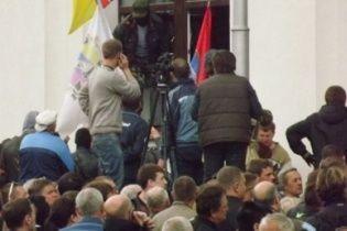 У Луганську захопили ОДА: сепаратисти вимагають у міліції здати зброю (онлайн-трансляція)