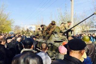 Заблокированные под Краматорском военные ВСУ сдали оружие сепаратистам - СМИ