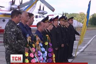 Тела погибших на Харьковщине спасателей доставили в Нежин