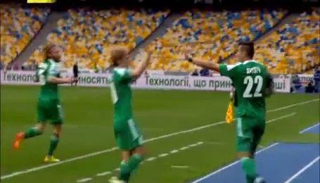 Динамо - Ворскла - 0:1. Відео голу Яховіча