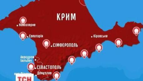 Восстановлено электроснабжение Крыму, но местная «власть» думает, где брать другое