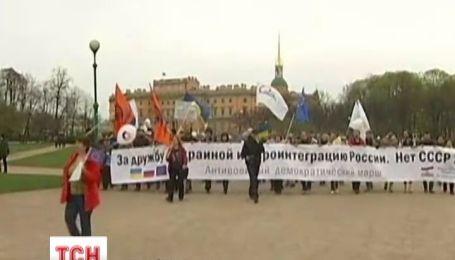 Санкт-Петербург попросил Кремль не вмешиваться в дела Украины