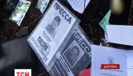Террористы снова обстреляли силовиков под телебашней в Славянске
