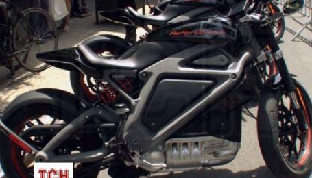 Компания Harley-Davidson представила прототип своего первого электрического мотоцикла