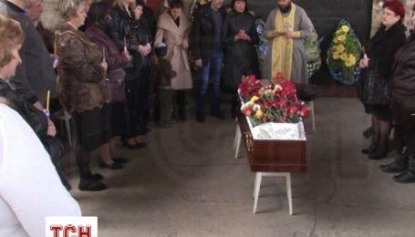 В городе Горловка Донецкой области похоронили убитого местного депутата Владимира Рыбака