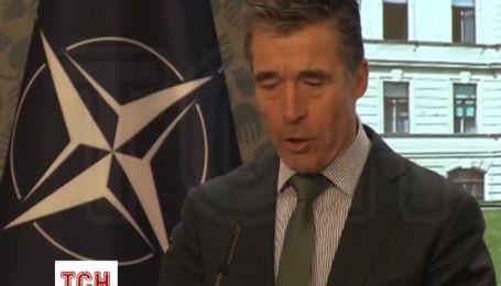 Расмуссен назвал пропагандой утверждения о том, что НАТО действует в логике холодной войны