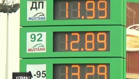 Цены на бензин растут вместе с курсом доллара