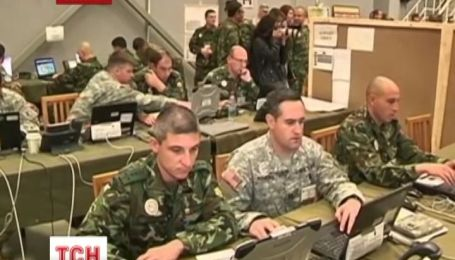 Военные Украины и НАТО учатся взаимодействовать в кризисных ситуациях