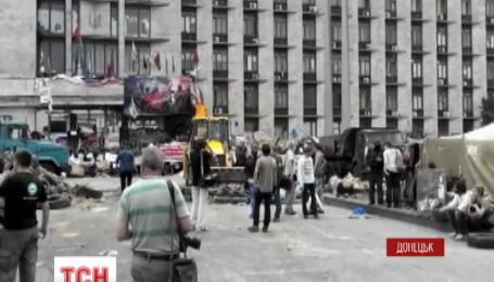 У лавах терористів у Донецьку стався воєнний переворот