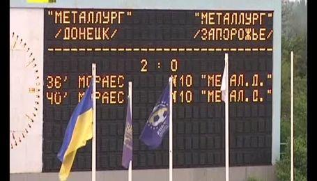 Металлург Донецк - Металлург Запорожье - 2:0. Видеоанализ