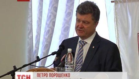Порошенко уверяет, что крымчане скоро попросятся назад