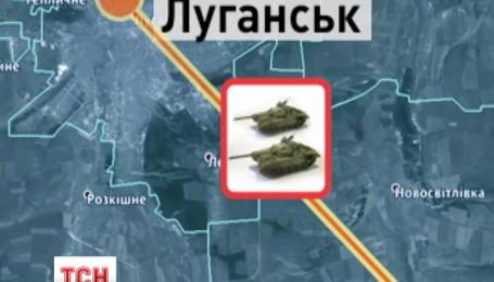 Колона військової бронетехніки з території Росії вільно в'їхала в Україну
