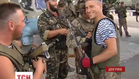 Терористи виснажуються, а українським військовим надходить підкріплення