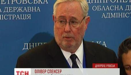Генсек ОБСЄ висловив задоволення прозорістю і організацією виборів на Дніпропетровщині