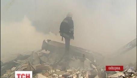 Очевидцы рассказали, как взорвалась заправка под Переяславом-Хмельницким