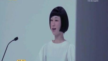 Японские ученые создали человекоподобного робота-телеведущую