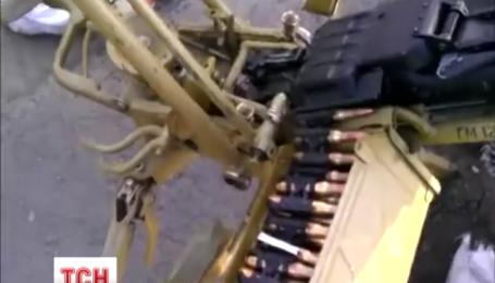 Отбитый у террористов БТР поступил на службу к украинским пограничникам