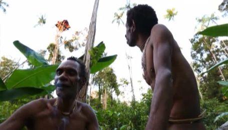 Новая Гвинея - племя караваи, которое живет на деревьях и являются потомками каннибалов