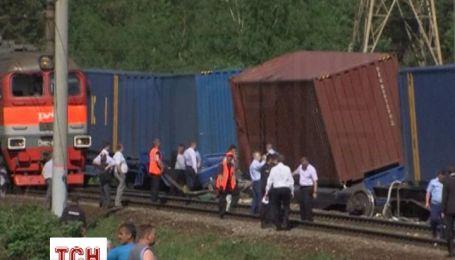 В Подмосковье произошла авария пассажирского и грузового поездов